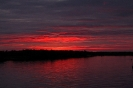 Закат у Белого моря